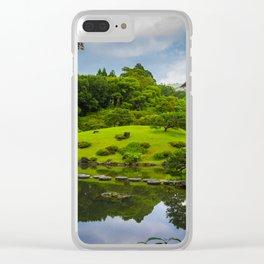 Garden of Heaven Clear iPhone Case