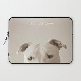 Pit bull love  Laptop Sleeve