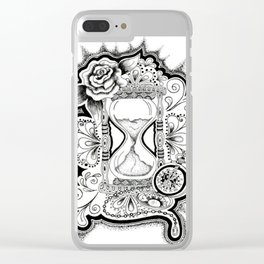 Hourglass Clear iPhone Case