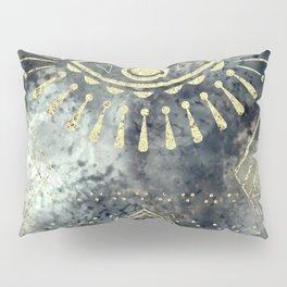 Evil Eye Gold Pillow Sham