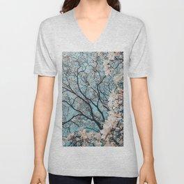 Spring bloom Unisex V-Neck