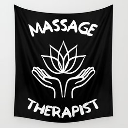 Massage Physiotherapy Therapist Healing Hands Gift Wall Tapestry