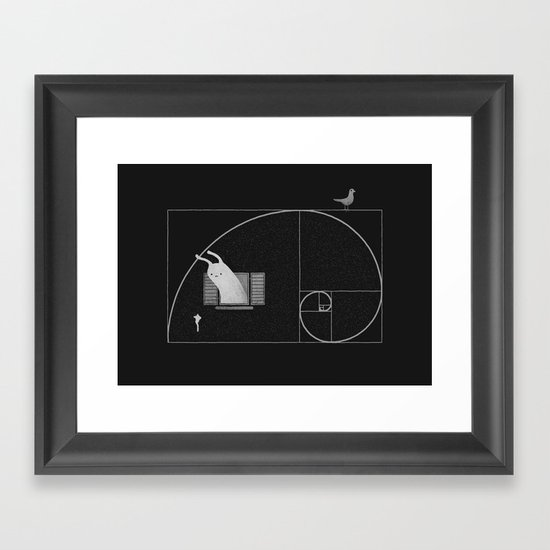 Close To Perfect Framed Art Print