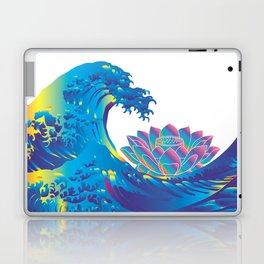 Hokusai Rainbow & Lotus Laptop & iPad Skin