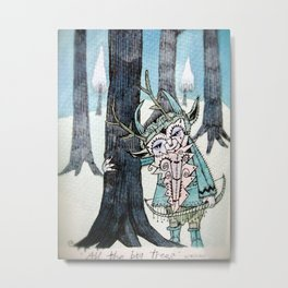all the big trees Metal Print