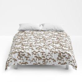 Beech Mushrooms Comforters