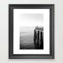 SEATTLE 1 Framed Art Print
