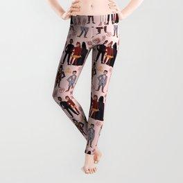Good Omens Repeat Pattern #3 Leggings
