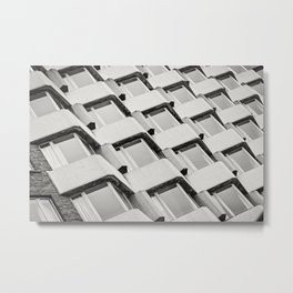 Modernistic Architectural Pattern Metal Print