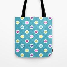 Bright lipstick Tote Bag