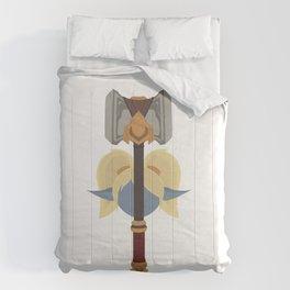 Poppy by Devin Buzzarello Comforters
