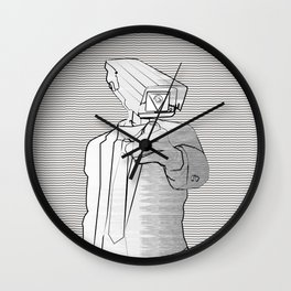 Sir Veillance Wall Clock