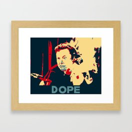 In Elon We Trust Framed Art Print