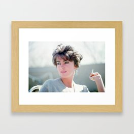 Lucia Berlin, Albuquerque, New Mexico 1963.  Framed Art Print