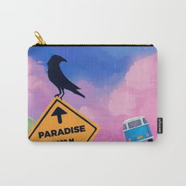 A roadway to paradise Carry-All Pouch