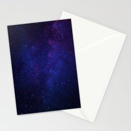 Stars from telescope Stationery Cards