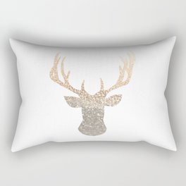 GOLD DEER Rectangular Pillow