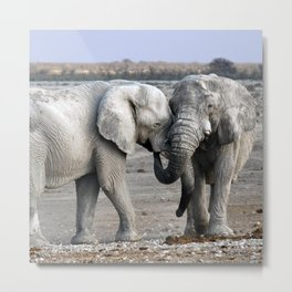 Lovely Metal Print