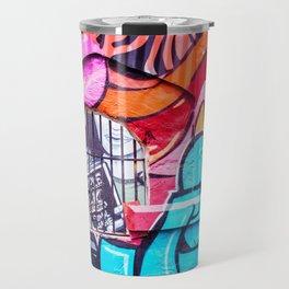 People Talk Graffiti Art in Houston Travel Mug