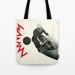 Motorcycle Madness Tote Bag