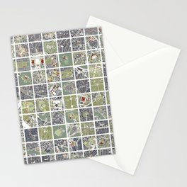 20 cities 20 Stationery Cards