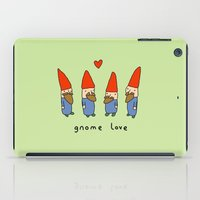 gnome iPad Cases featuring Gnome Love by Sophie Corrigan