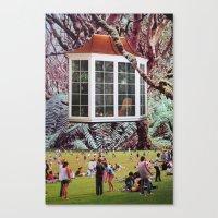 window Canvas Prints featuring Window by John Turck