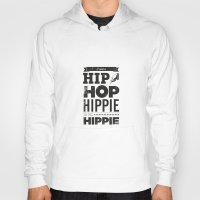 hip hop Hoodies featuring Hip Hop by Leeroy