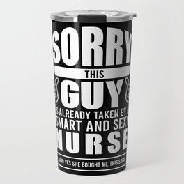 Nurse Boyfriend Medicial Husband Gift Travel Mug