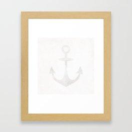 Port Framed Art Print