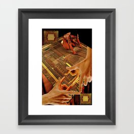 Tesrawa Tapestry Framed Art Print