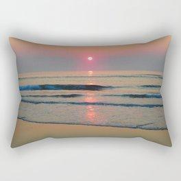 Sparkly Sunrise Rectangular Pillow