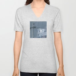 Abstraction 16 No. 6 by Kathy Morton Stanion Unisex V-Neck
