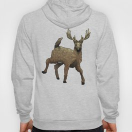 White Tail Deer Hoody