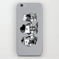 computer iPhone & iPod Skins featuring Computer Mafia by MEKAZOO