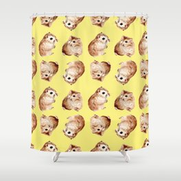 Coco the Hamster Shower Curtain