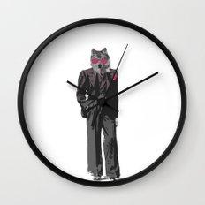 Mr Big Bad Wall Clock