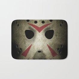 Hockey Mask Bath Mat