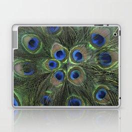 Peacock Flower Laptop & iPad Skin