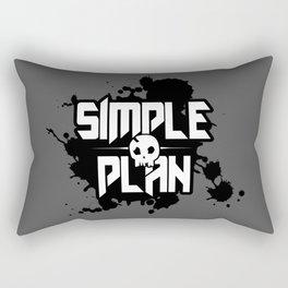 Simple Plan Rectangular Pillow