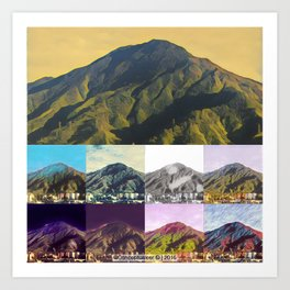 9 Fases El Avila Art Print