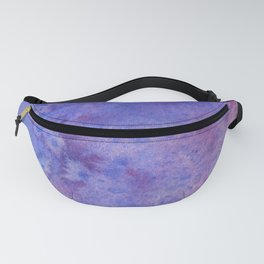 Lilac Waves Fanny Pack