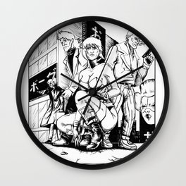 Ghost in the Shell: Section 9 Wall Clock