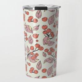 Berries pattern Travel Mug