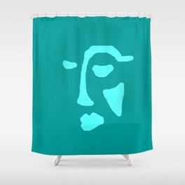 Face Of The Sea Shower Curtain