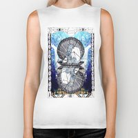 aquarius Biker Tanks featuring Aquarius by Caroline Vitelli GOODIES