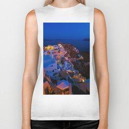 Santorini. Biker Tank
