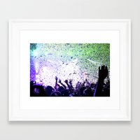 concert Framed Art Prints featuring Concert by Danielle Sheridan Photo