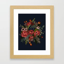 To Whomever it May Concern: Fuck Off Framed Art Print