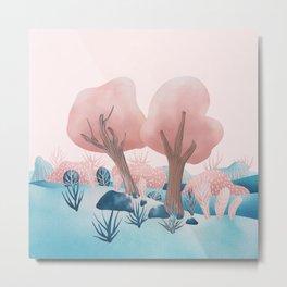 Winter landscapes 1 Metal Print